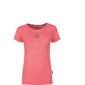 Pally'Hi Heartzl t-shirt Dames roze